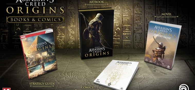 Ubisoft Unveils Four Origins Books