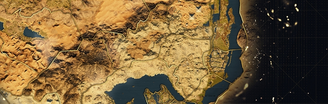 Assassin's Creed Origins – World Map