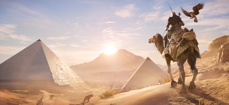 Sneak Peek: Assassin's Creed: Origins Gameplay + Free Roam