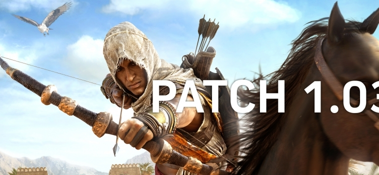 Assassin's Creed Origins – Patch 1.03 Released
