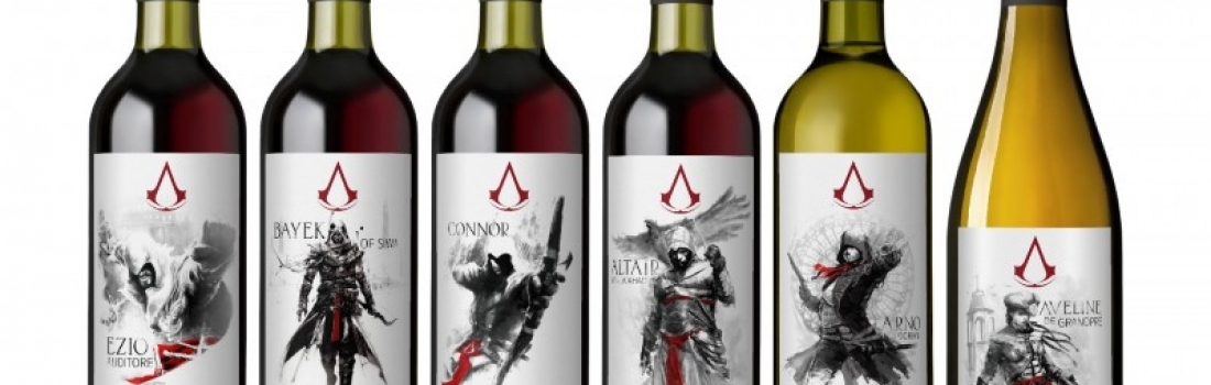 Limited Edition Assassin's Creed Wine