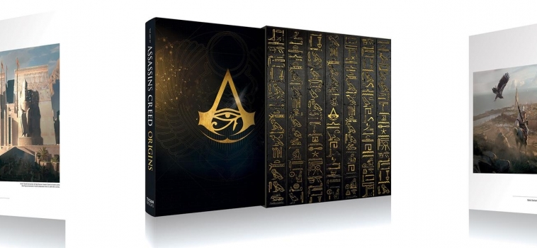 Art of Assassin's Creed: Origins (Limited Edition) Unveiled!
