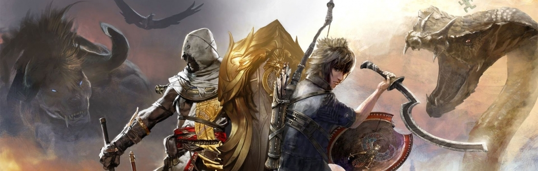 """Assassin's Creed Origins – """"Gift from the Gods"""" Final Fantasy XV Crossover Quest Available Now"""